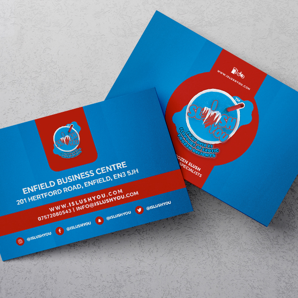 printed economy business cards